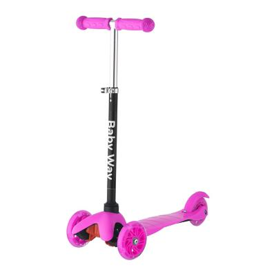 Scooter luces fucsia
