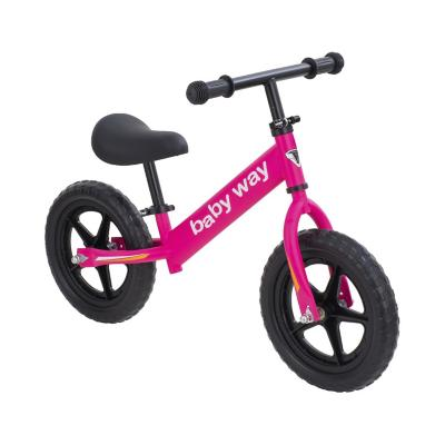 Bicicleta de equilibrio fucsia