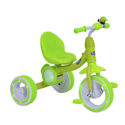 Triciclo musical con luces verde