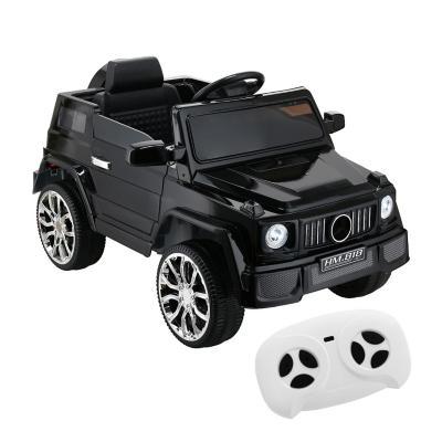 Auto 4x4 a batería negro