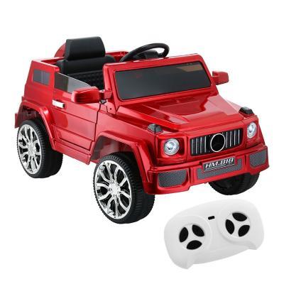 Auto 4x4 a batería rojo