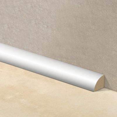 Junquillo EPS 15x15 mm 2,4 m blanco brillante - 10 unidades