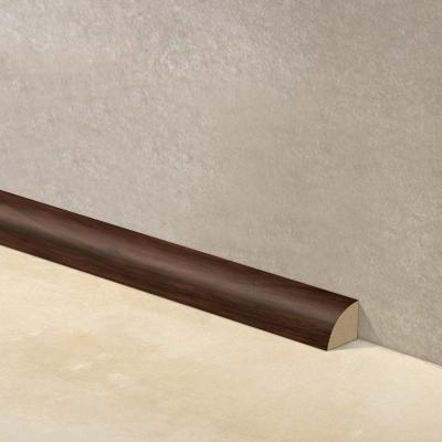 Junquillo EPS 15x15 mm 2,4 m cacao brillante - 10 unidades