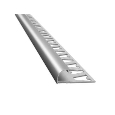 Guardacanto aluminio 10mm cromado