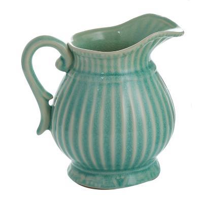 Jarrón cerámica diseño greco