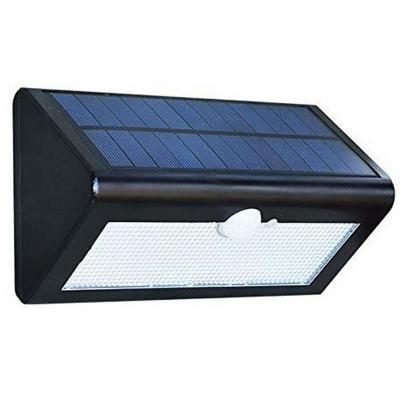 Foco led solar con sensor de movimiento exterior