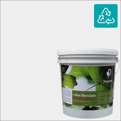 Latex reciclado extracubriente gris 4 galones