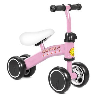 Correpasillo mini bike para bebes rosado