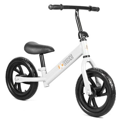 Bicicleta de balance para niños de 1 a 5 años 12 blanco