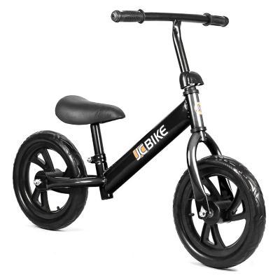 Bicicleta de balance para niños de 1 a 5 años 12 negro