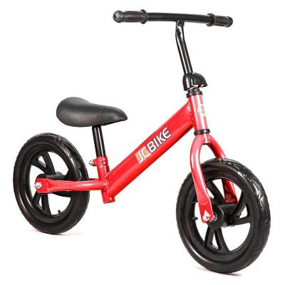 Bicicleta de balance para niños de 1 a 5 años 12 rojo