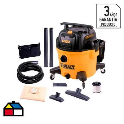 Aspiradora eléctrica seco/humedo 34 lts 1200 W