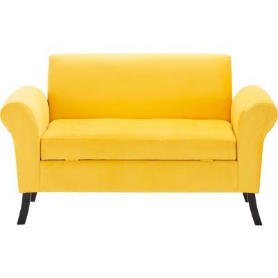 Banqueta bául 80x65x130 cm amarillo