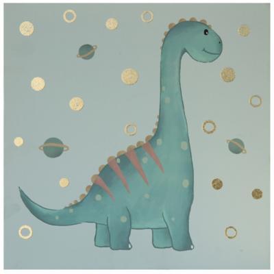 Canvas Dinosaurio 30x30 cm