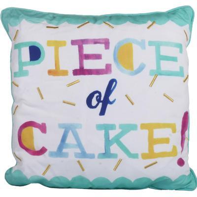 Cojín decorativo juvenil cake 45x45 cm