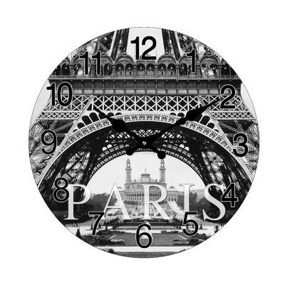 Reloj mural decorativo parís 38 cm