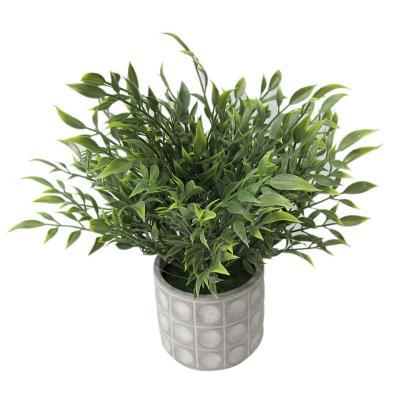 Planta decorativa artificial laurus 28 cm