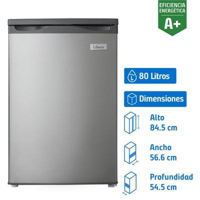 Freezer vertical 80 litros