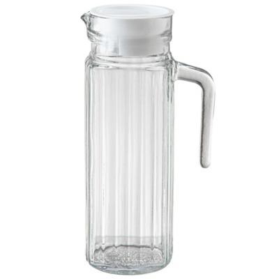 Jarra de vidrio 1,1 l transparente