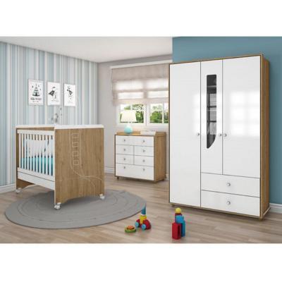 Combo infantil cuna + comoda + closet