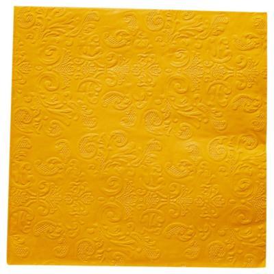 Servilleta de papel 33x33 cm naranja 20 unidades