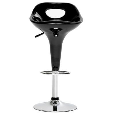 Piso de bar smooth plástico 41x46x80 cm negro