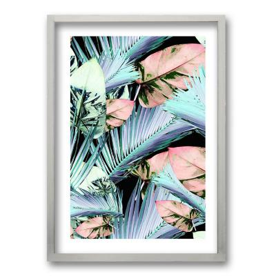 Cuadro 50x35 cm ilustración palmas