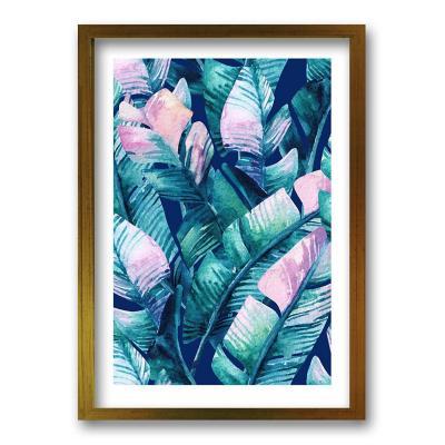 Cuadro 40x30 cm ilustración tropico