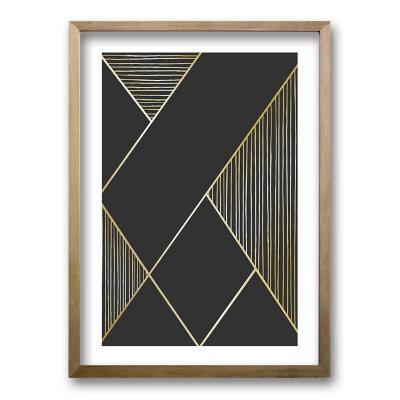 Cuadro 70x50 cm ilustración linealidad