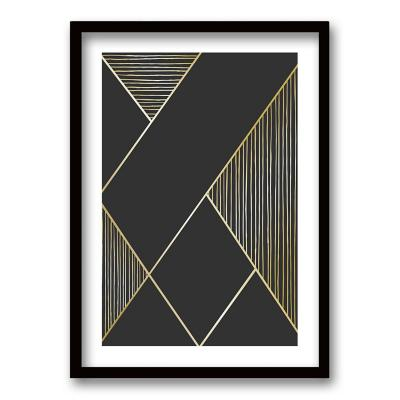 Cuadro 50x35 cm ilustración linealidad