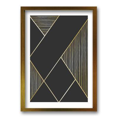 Cuadro 40x30 cm ilustración linealidad
