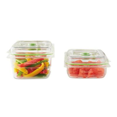 Pack 2 contendores de alimentos fresh
