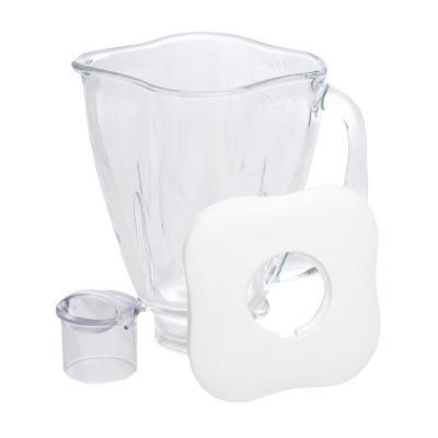 Vaso de vidrio trébol