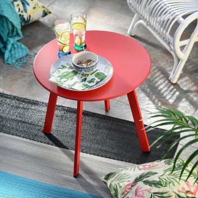 Mesa de apoyo 50x45 cm rojo