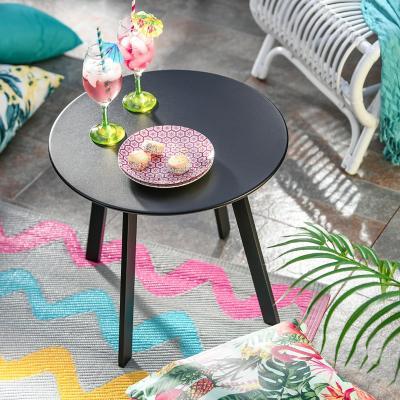 Mesa de apoyo 50x45 cm negra