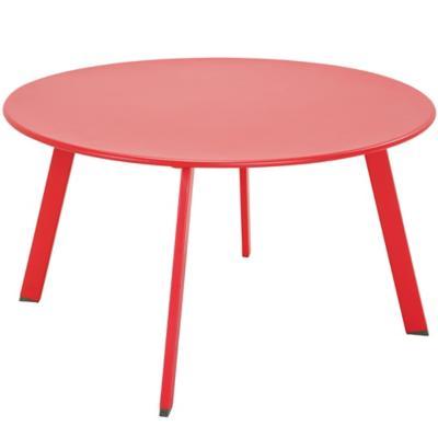 Mesa de jardín 70x40 cm rojo