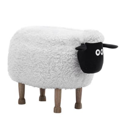 Banca infantil ovejita 38x41x67 cm