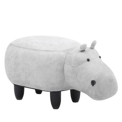 Banca infantil hipopótamo 35x37x67 cm