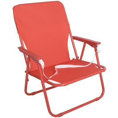 Silla sand chair text rojo