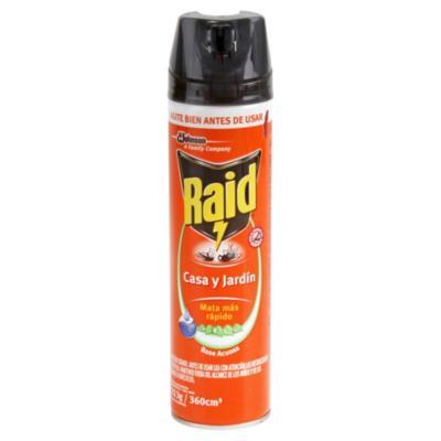 Insecticida para casa y jardín 360 ml aerosol