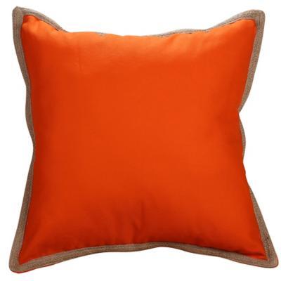 Cojín naranja yute 50x50 cm