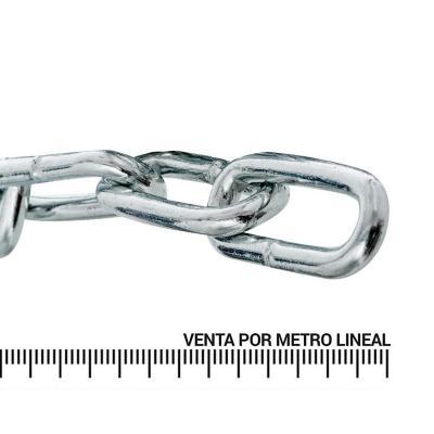 Cadena de eslabón largo 8 mm metro lineal