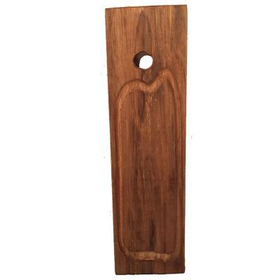 Tabla madera rústica gourmet 50 cm