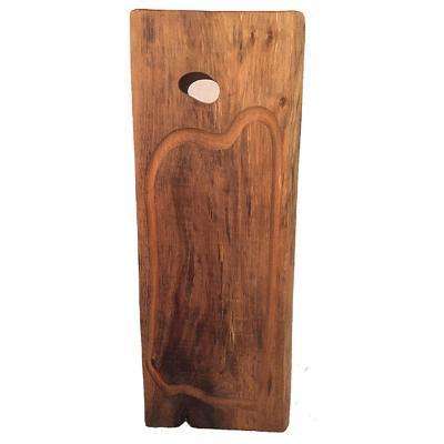 Tabla madera rústica gourmet 60 cm