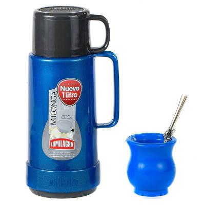 Set mate milonga azul 1 litro