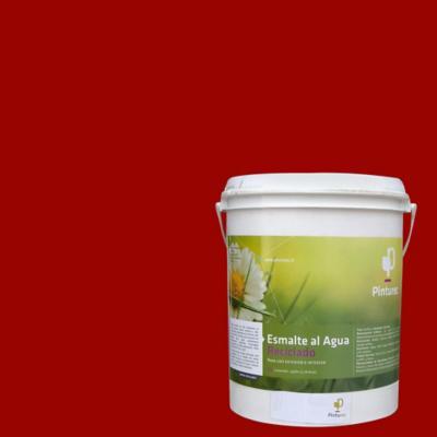 Esmalte al agua reciclado rojo 1g