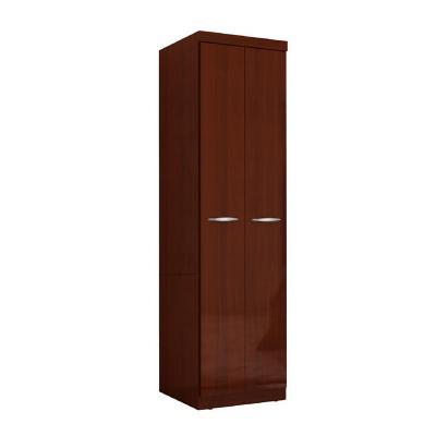 Clóset 2 puertas caoba 182x50x47 cm