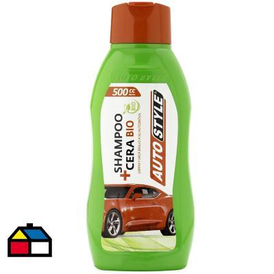 Shampoo más cera eco 500cc