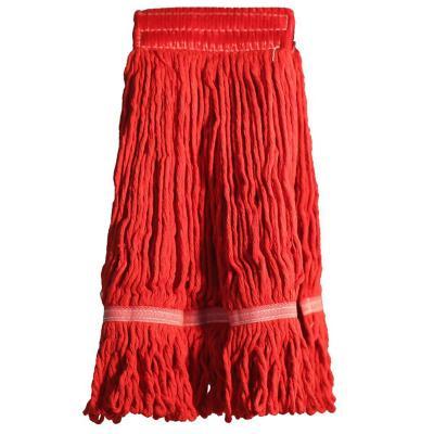 Mopa de algodón tipo garra rojo sin mango