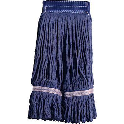 Mopa de algodón tipo garra azul sin mango